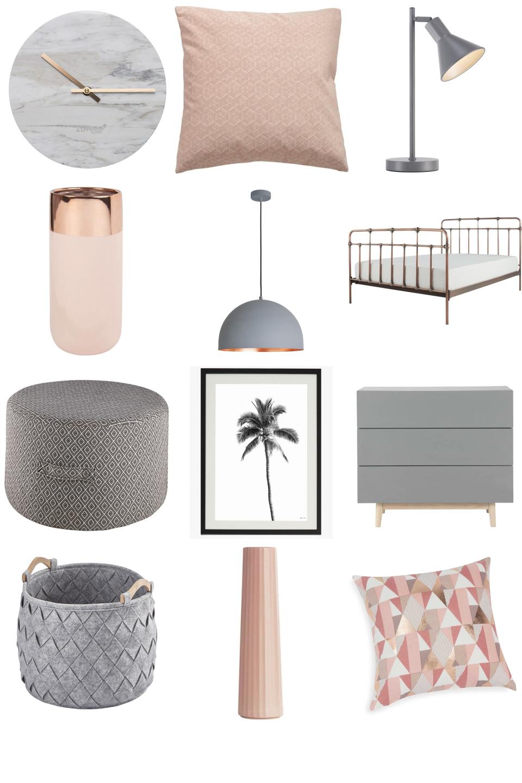 Pink And Grey Bedroom Furnishful S Bedroom Ideas