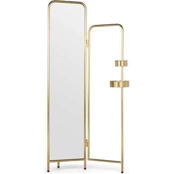 trendy alana valet brushed brass x cm with valet maison du monde. Black Bedroom Furniture Sets. Home Design Ideas