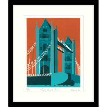 Pictures paintings and prints jennie ing tower bridge framed print mount 645 x gumiabroncs Choice Image