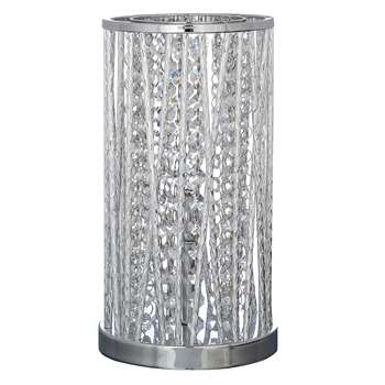John lewis emilia crystal table lamp clear 29 x 16cm